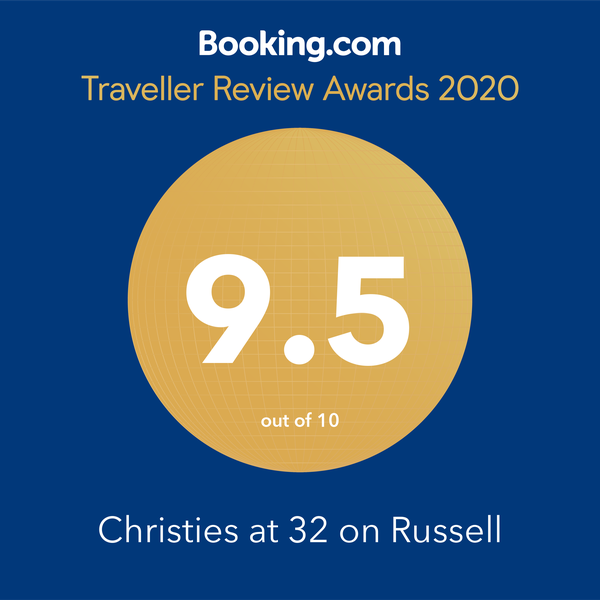 Christie's at 32 On Russell - Traveller Review Award 2020